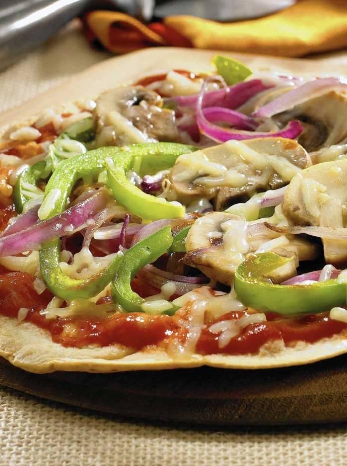 Recipe for Skinny Pizza
