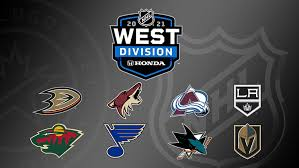 Honda NHL West Division.  1 Open seat at the playoff table