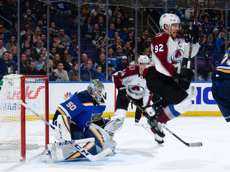 Colorado Avalanche Took the St. Louis Blues to the Woodshed. Put up a Snowman. 8-0