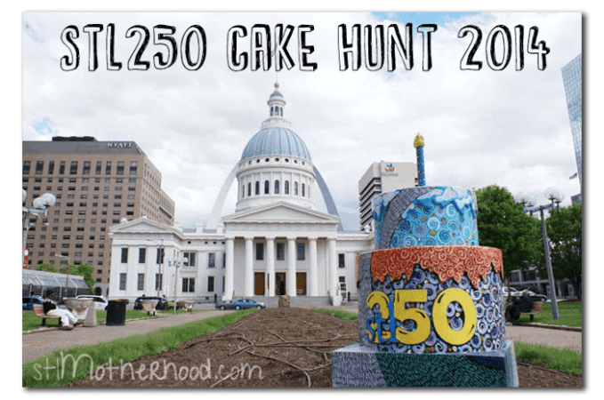 stl250 Cake Hunt in St. Louis (fun and free)