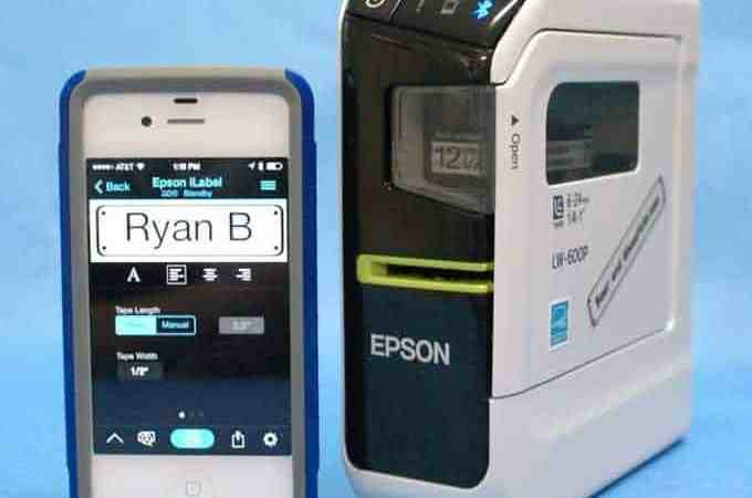 Review: Epson LW-600P Label Maker