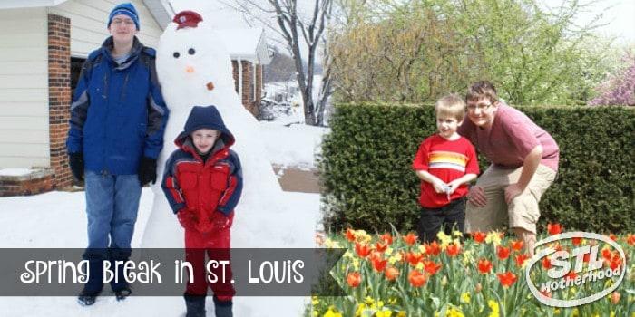 Spring break in St. Louis