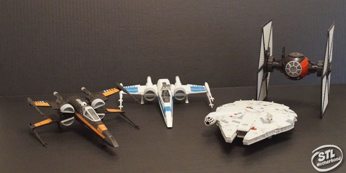Revell model star wars ships
