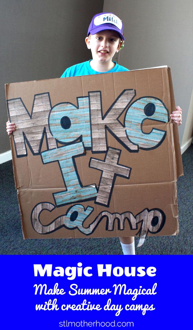 Magic House Summer Camp