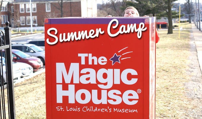 Add some Magic House to your Kid's Summer