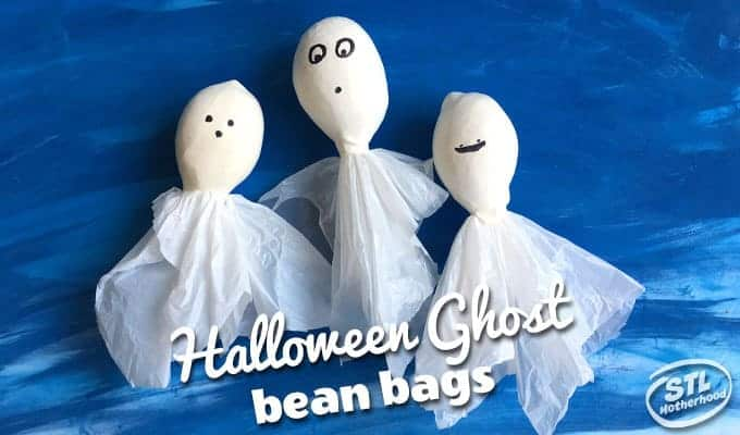 Ghost Ball: A Bean Bag for Spooky Games