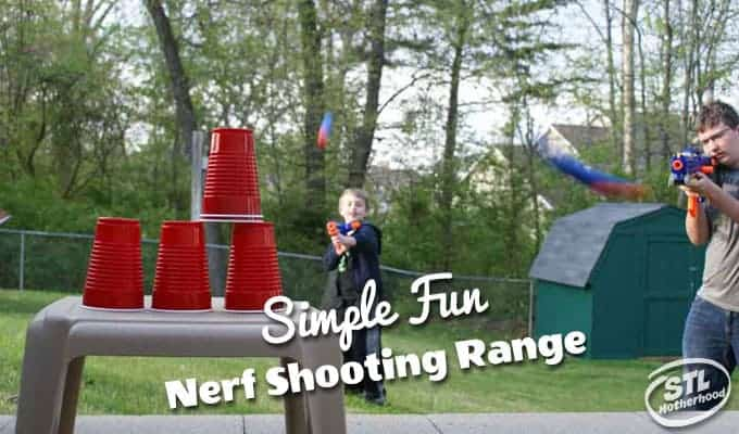 nerf shooting range