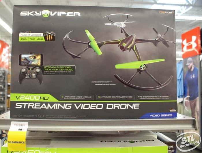 drones at academy sports