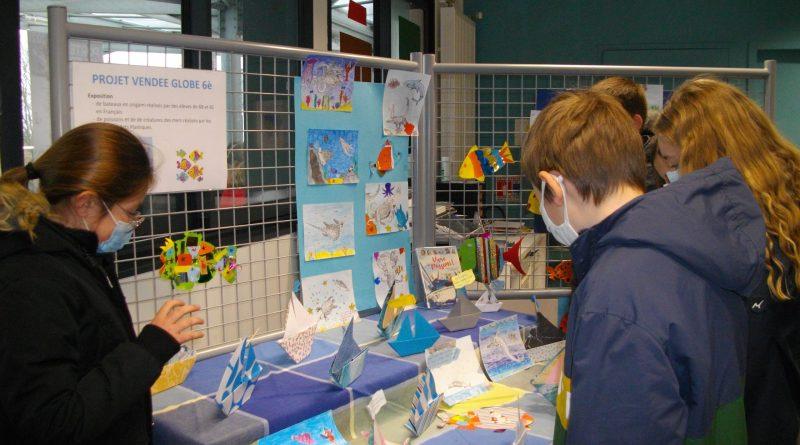 Des bateaux, des poissons et des créatures des mers exposés au CDI