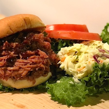 Pulled Pork with slaw