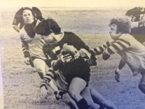 Jet Henley (left), Mizzou Rugby game 72