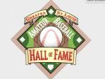 Amateur baseball hof logo