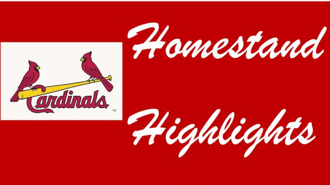 St  Louis Cardinals Homestand Highlights