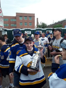 Parade Brian Ott and Blues Special Hockey