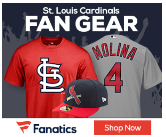 Fanatics Cardinals fan Gear icon