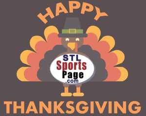 Happy thanksgiving with STLSportsPage.com