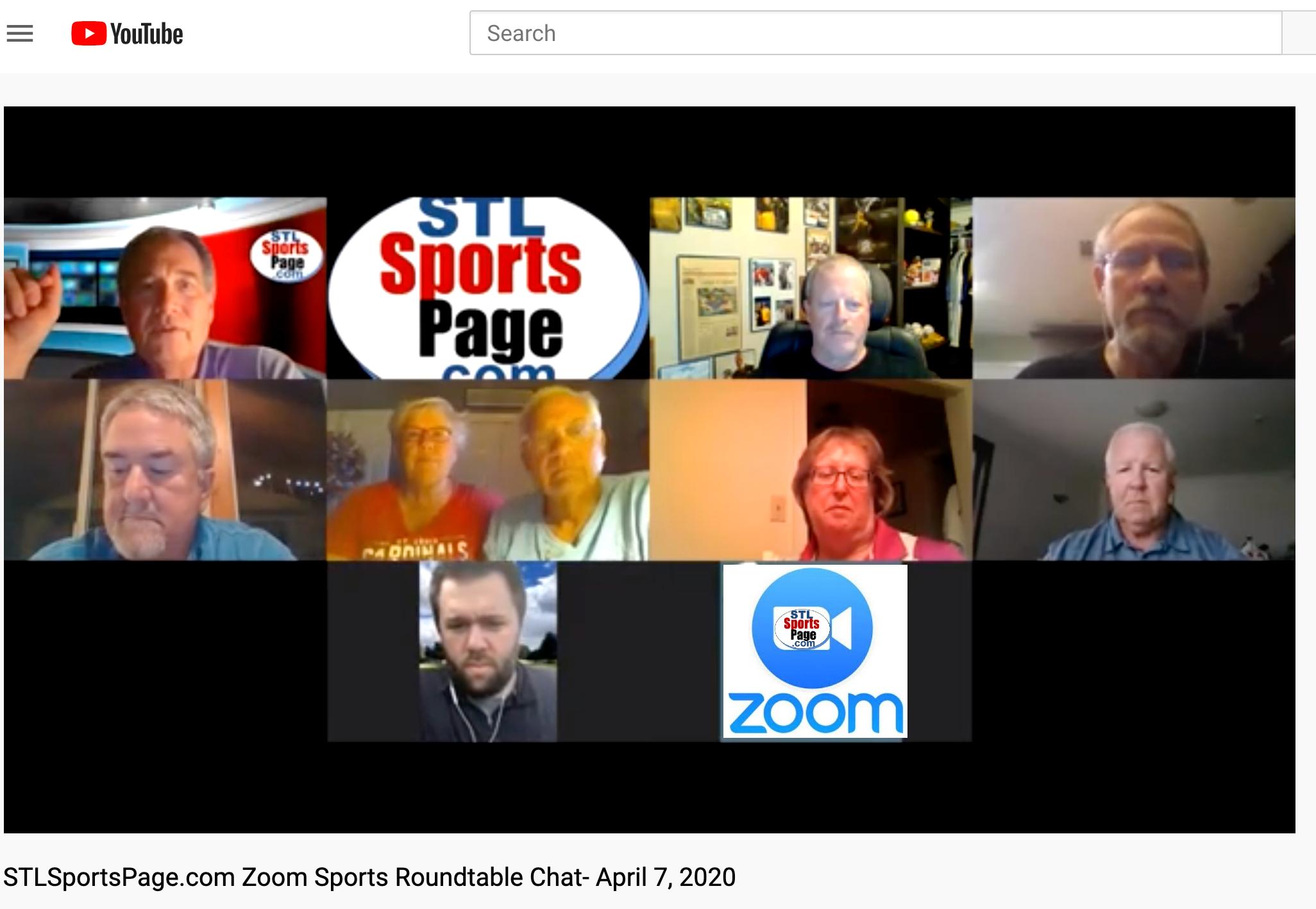 GOOD Screenshot of 1st Zoom Baseball Conversation