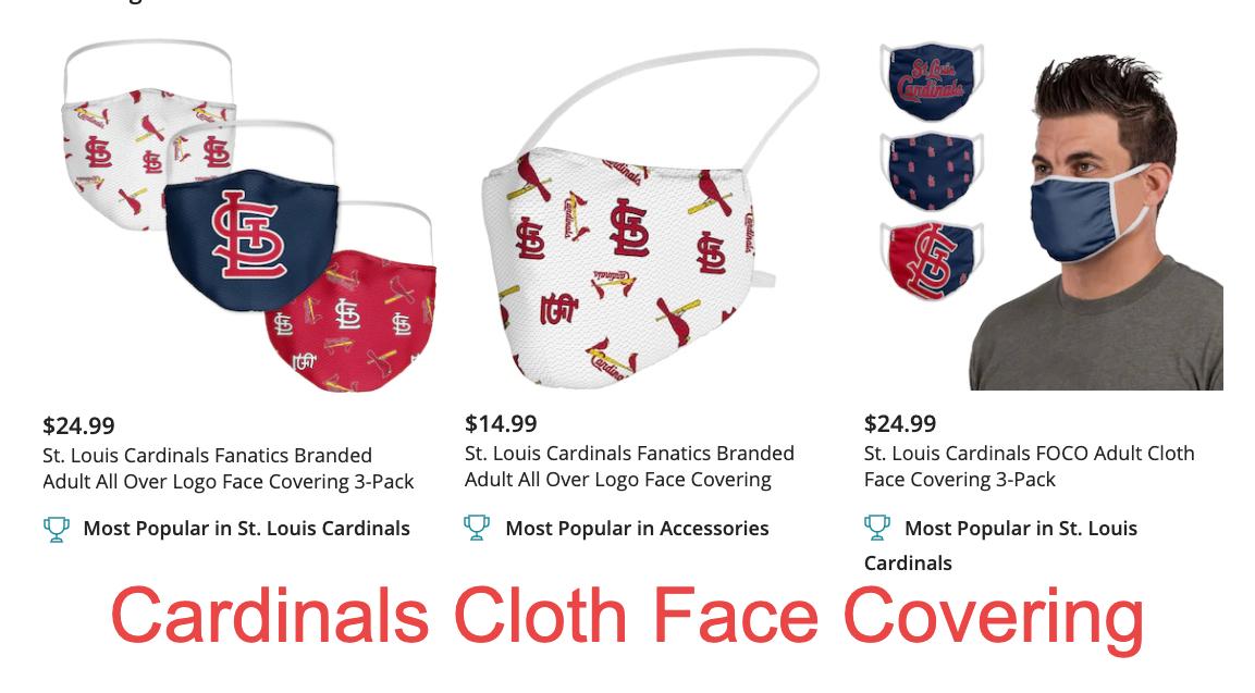 Healthy Lifestyle: Cardinals masks