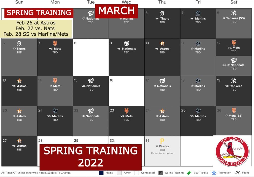 Spring Training 2022