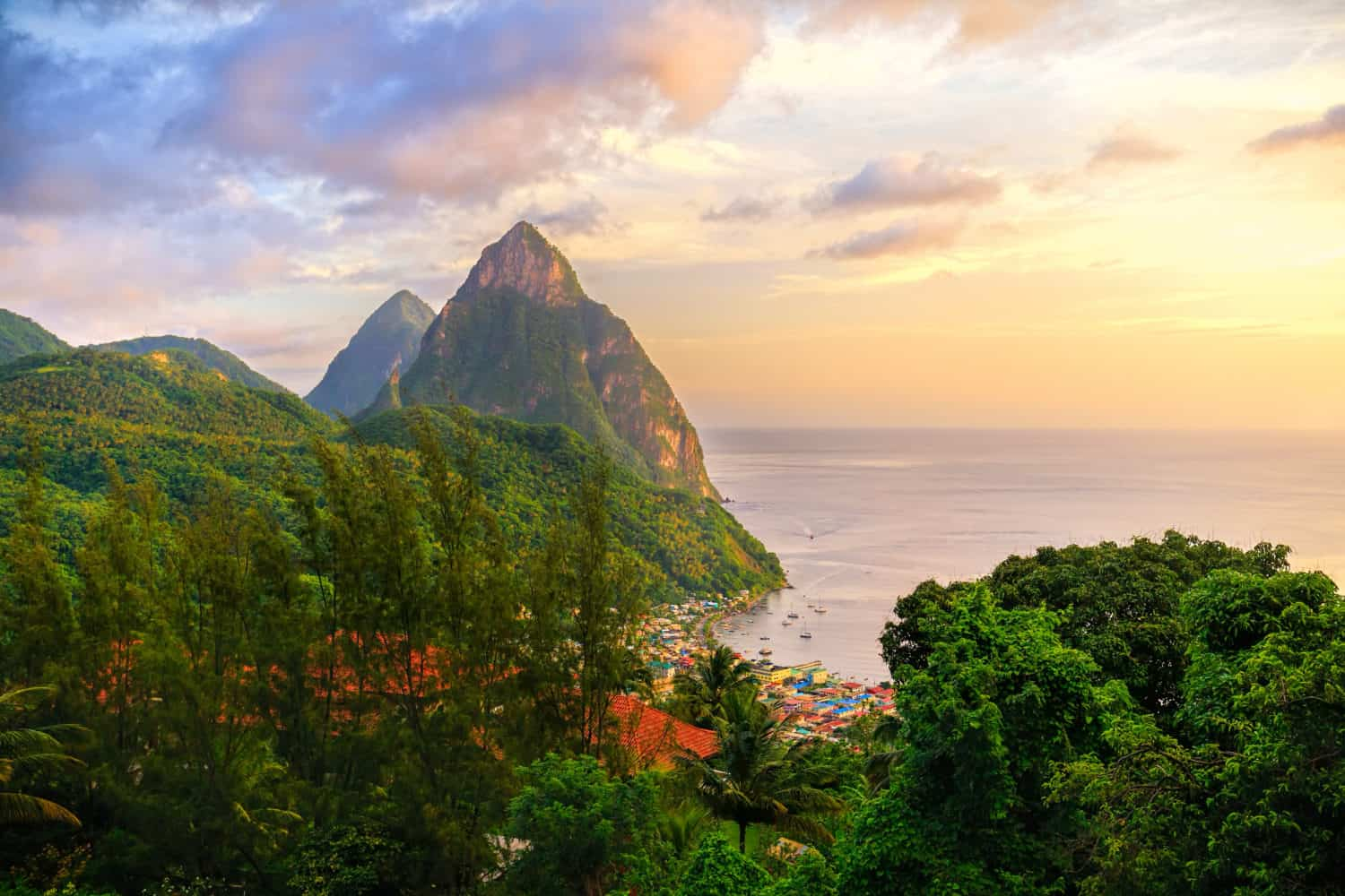 St Lucia All Inclusive-The Pitons