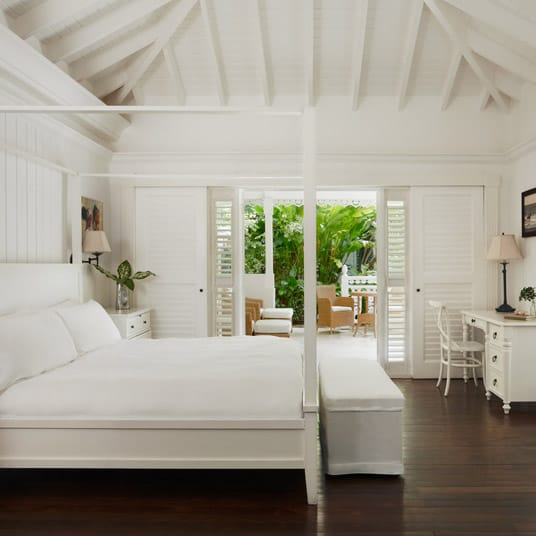 Accommodations at luxury Sugar Beach Resort in St Lucia