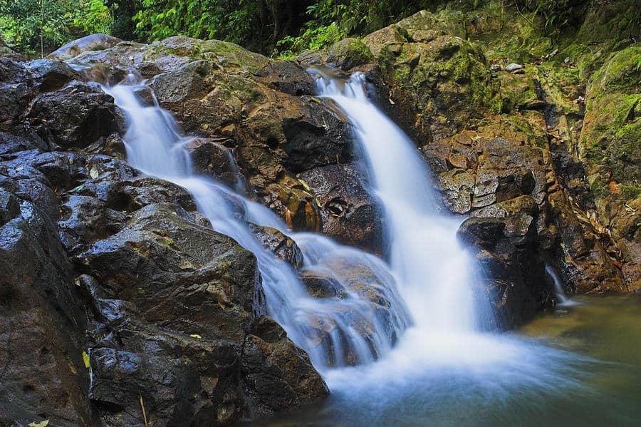 St Lucia Bexon waterfall