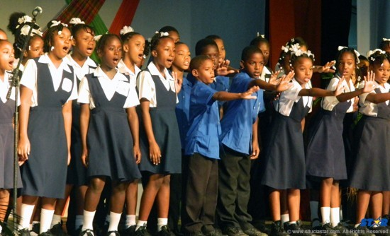 SJC and Anse La Raye win schools choir competition | The St
