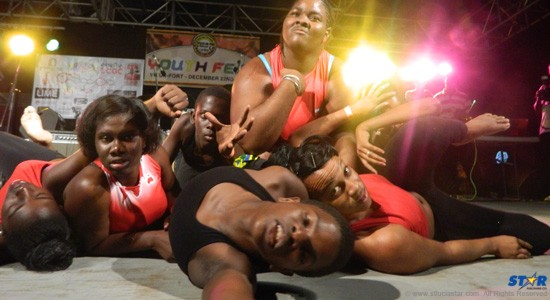 Winning dance crew: Twisted from Saint Lucia.