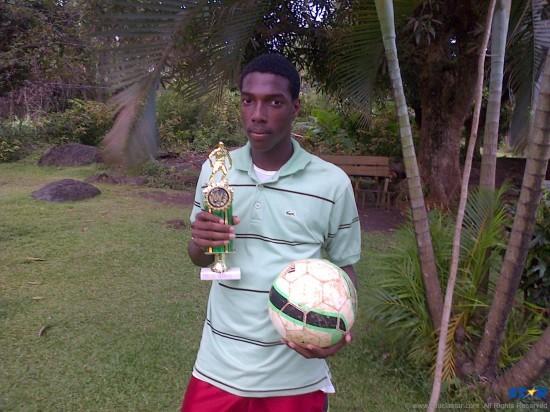 Young striker Corey Serieux.