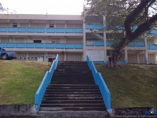 When will these stairs lead to a better education for the George Charles students,  regardless of their circumstances?