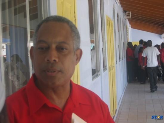 Saint Lucia's Minister of Justice Phillip LaCorbinere.