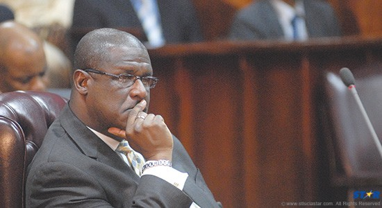 Former Prime Minister Stephenson King: Deafening was his  silence on Grynberg during the most recent Budget debate.
