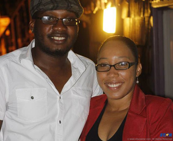 Ron Isidore and Shernell Lionel.