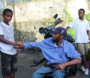 Georgeville Man Gets Electric Wheelchair From HHH