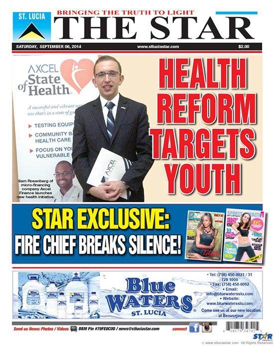 Star Newspaper Saturday 6 September 2014