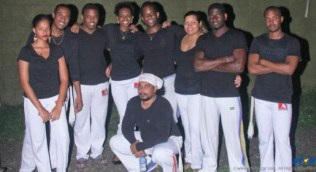 Members of the newly-formed Capoeira 758 band.