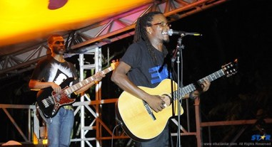 Martinique's E.SY Kennenga performed several of his hit songs.