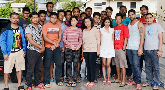 "Some of the Indian and Nepalese students allegedly lured to ""Saint Lucia, North America"" by  human traffickers are currently being housed at the Pastoral Center in Castries. Five individuals,  including a native of Bangladesh are in police custody. Meanwhile, the government has  announced another ""independent inquiry"" headed by a government minister."