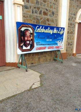 On Wednesday July 1, 2015 a church service marked the opening of a celebration in honour of the life of Kenneth David John who died tragically in 1998.