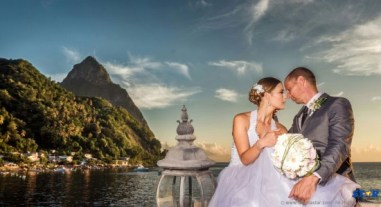 """""""My love for you is as high as the Pitons."""""""
