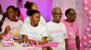 Cancer conquerors of local support group Faces of Cancer.