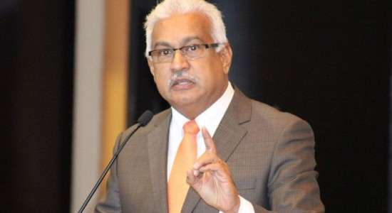 Trinidad and Tobago's Health Minister Terrence Deyalsingh.