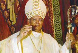 Archbishop Robert Rivas.