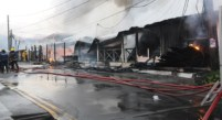 Some of the establishments gutted by fireire