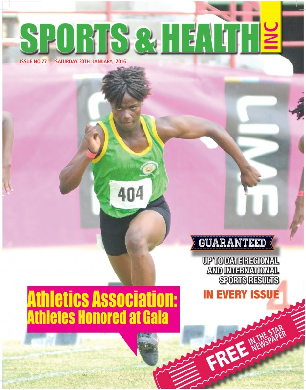 Sports & Health Magazine Inc. Saturday January 30th, 2016 - Issue no. 77