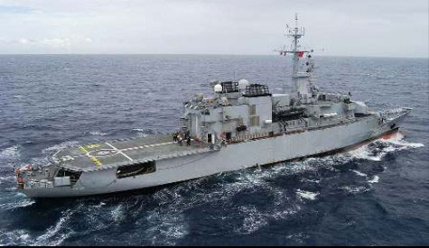 French Navy frigate Ventose heads to St. Kitts instead of participating in Saint Lucia's Independence activities.