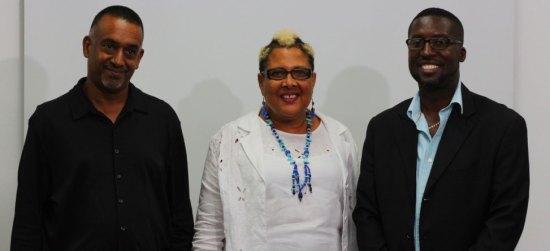 AMPP SLU interim executive l-r: Ian Sanchez, Vice-Chairman; Jackie Cherubin, PRO and Martin James, Chairman.