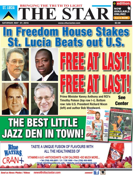 The STAR Newspaper for Saturday May 7th, 2016