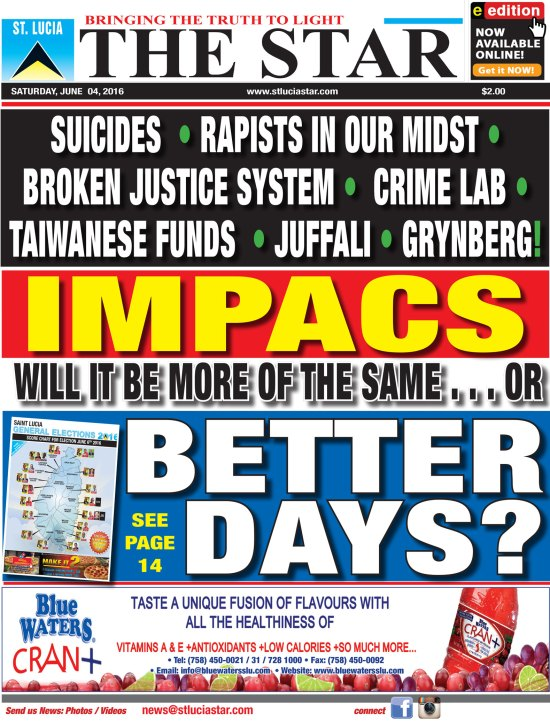 The STAR Newspaper for Saturday June 4th, 2016