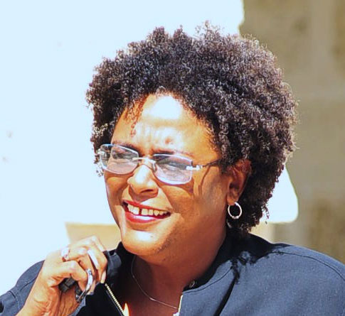 Barbados Opposition Leader Mia Mottley.